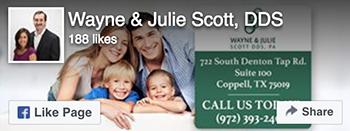 Facebook Like - Wayne and Julie Scott DDS